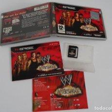 Videojuegos y Consolas: N-GAGE - WWE AFTERSHOCK ED. ESPAÑOL NOKIA NGAGE N GAGE. Lote 295408528