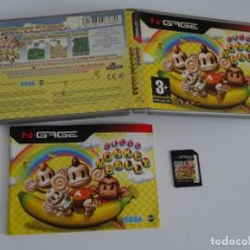 Videojuegos y Consolas: N-GAGE - SUPER MONKEY BALL SEGA ED. ESPAÑOL NOKIA NGAGE N GAGE. Lote 295409063