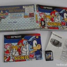 Videojuegos y Consolas: N-GAGE - SONIC N SEGA ED. ESPAÑOL NOKIA NGAGE N GAGE. Lote 295409268