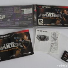 Videojuegos y Consolas: N-GAGE - TOMB RAIDER STARRING LARA CROFT ED. ESPAÑOL NOKIA NGAGE N GAGE. Lote 295409553