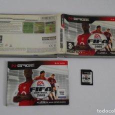 Videojuegos y Consolas: N-GAGE - EA SPORTS FIFA FOOTBALL 2005 ED. ESPAÑOL NOKIA NGAGE N GAGE. Lote 295409958