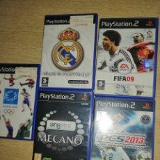 Videojuegos y Consolas: 5 PLAYSTATION. Lote 296690153