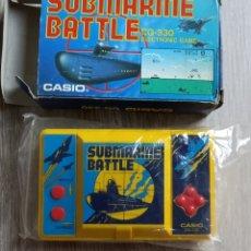Videojuegos y Consolas: SUBMARINE BATTE CG330 CASIO. Lote 297163588