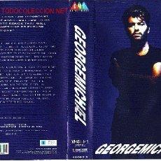 Vídeos y DVD Musicales: GEORGE MICHAEL VIDEO VHS ORIGINAL. Lote 12517153