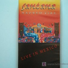 Vídeos y DVD Musicales: SANTANA - SACRED FIRE-LIVE IN MEXICO - VIDEO VHS. Lote 22011016
