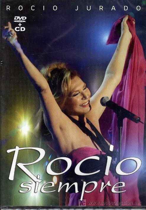 ROCÍO JURADO: ROCÍO SIEMPRE. DVD + CD. DÚOS CON BISBAL, CHAYANNE, RAPHAEL, LOLITA,MÓNICA NARANJO,ETC (Música - Videos y DVD Musicales)