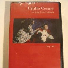 Vídeos y DVD Musicales: VIDEO VHS OPERA GIULIO CESARE DE G. F. HÄNDEL . GRAN TEATRE DEL LICEU 2001.. Lote 26975136