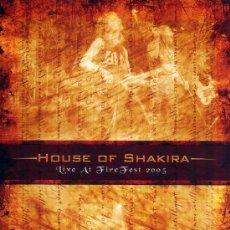 Vídeos y DVD Musicales: HOUSE OF SHAKIRA LIVE AT FIRE FEST 2005 ( DVD NUEVO PRECINTADO ). Lote 27420839