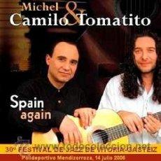 Vídeos y DVD Musicales: MICHEL CAMILO Y TOMATITO EN EL FESTIVAL DE JAZZ DE VITORIA-GASTEIZ 2006 (DVD). Lote 140494545