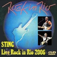 Vídeos y DVD Musicales: STING – LIVE ROCK IN RIO 2006 (DVD). Lote 49090654