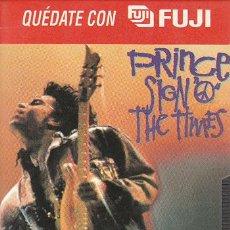 Vídeos y DVD Musicales: PRINCE - SIGN OF THE TIMES - EDICIÓN PROMOCIONAL VHS FUJI. Lote 18554920
