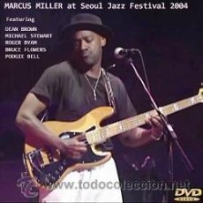 Vídeos y DVD Musicales: MARCUS MILLER AT SEOUL JAZZ FESTIVAL 2004 (DVD). Lote 44980717