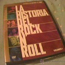 Vídeos y DVD Musicales: LA HISTORIA DEL ROCK N´ROLL EN DVD. VOLUMEN 1. EN INGLES 5:1, SUBTITULOS EN VARIOS IDIOMAS.. Lote 9525906