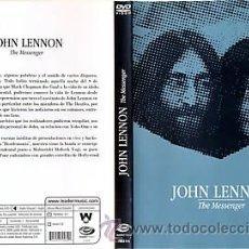 Vídeos y DVD Musicales: JOHN LENNON DVD MESSENGER EDICION LIMITADA ARGENTINA 2008 CON THE BEATLES MULTIZONA. Lote 26549084