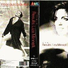 Vídeos y DVD Musicales: LIZA MINNELLI VIDEO VHS ORIGINAL. Lote 12308593