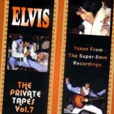 Vídeos y DVD Musicales: ELVIS PRESLEY THE PRIVATE TAPES V. 7 (DVD NUEVO PRECINTADO) RECOMENDADO PARA COLECCIONISTAS. Lote 28311284