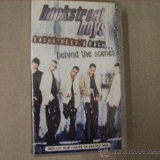 Vídeos y DVD Musicales: VHS. BACKSTREET BOYS - BEHIND THE SCENES. Lote 25482554