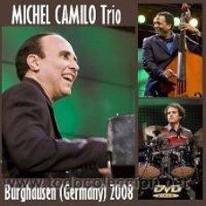Vídeos y DVD Musicales: MICHEL CAMILO TRIO – LIVE BURGHAUSEN (GERMANY) 2008 - DVD. Lote 194724523
