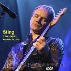 Vídeos y DVD Musicales: STING LIVE JAPAN 1994 (DVD). Lote 194776520