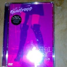 Vídeos y DVD Musicales: GOLDFRAPP WONDERFUL ELECTRIC LIVE IN LONDON (2 DVD). Lote 25647745