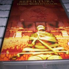 Vídeos y DVD Musicales: SEPULTURA - THIRD WORLD CHAOS - VHS. Lote 27258074
