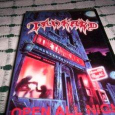 Vídeos y DVD Musicales: TANKARD - OPEN ALL NIGHT - VHS. Lote 27258075
