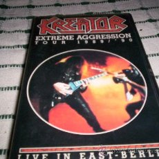 Vídeos y DVD Musicales: KREATOR - EXTREME AGGRESSION 89/90-VHS. Lote 27258076