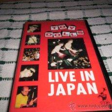 Vídeos y DVD Musicales: TOY DOLLS - LIVE IN JAPAN - VHS. Lote 27258078