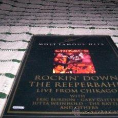 Vídeos y DVD Musicales: ROCKIN' DOWN THE REEPERBAHN (BURDON, GLITTER,...)-PRECINTADO. Lote 27589808