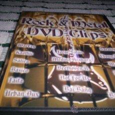 Vídeos y DVD Musicales: AVISPA ROCK & METAL DVD-CLIPS (SARATOGA,WARCRY,...). Lote 27280924
