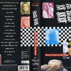 Vídeos y DVD Musicales: CHEAP TRICK - EVERY TRICK IN THE BOOK (1990) VHS. Lote 26970491
