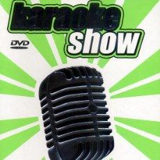 Vídeos y DVD Musicales: KARAOKE SHOW VERDE PACK 5 DVDS PRECINTADOS CANCIONES EN EL INTERIOR VER FOTO PRODUCTO DESCATALOGADO. Lote 37464046
