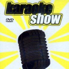 Vídeos y DVD Musicales: KARAOKE SHOW AMARILLO PACK 5 DVDS PRECINTADOS CANCIONES INTERIOR VER FOTO PRODUCTO DESCATALOGADO. Lote 37464049