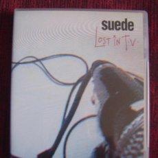 Vídeos y DVD Musicales: SUEDE - LOST IN TV (DVD). Lote 23470811