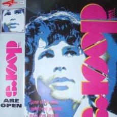 Vídeos y DVD Musicales: THE DOORS - ARE OPEN (1968) - VIDEO VHS 60 MINUTOS ROCK PSICODELIA 60'S. Lote 19230024