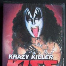 Vídeos y DVD Musicales: KISS. KRAZY KILLER. DETROIT KISS KONVENTION. PRECINTADO. EL GRAN ESCÁNDALO EN IMÁGENES. ZONA 1.. Lote 18122874