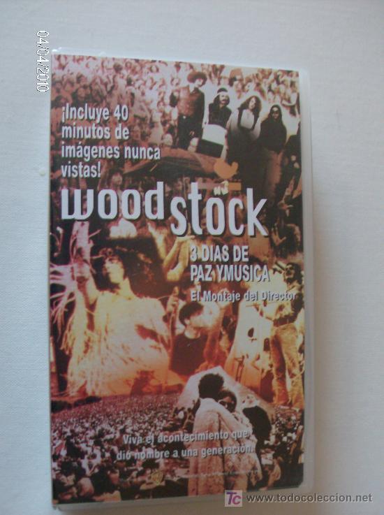 VHS WOODSTOCK --TRES DIAS DE PAZ Y MUSICA--AGOSTO 1969 (Música - Videos y DVD Musicales)