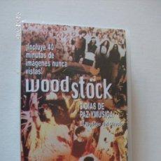 Vídeos y DVD Musicales: VHS WOODSTOCK --TRES DIAS DE PAZ Y MUSICA--AGOSTO 1969. Lote 26715015