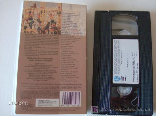 Vídeos y DVD Musicales: VHS WOODSTOCK --TRES DIAS DE PAZ Y MUSICA--AGOSTO 1969 - Foto 2 - 26715015