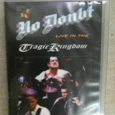 Vídeos y DVD Musicales: VHS-NO DOUBT-LIVE IN THE TRAGIC KINGDOM-VIDEO CONCIERTO IMPRESCINDIBLE-NUEVO PRECINTADO. Lote 27544497