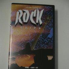 Vídeos y DVD Musicales: VHS ROCK CLIPS . Lote 26715018