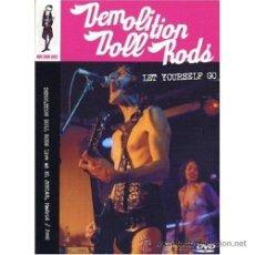 Vídeos y DVD Musicales: DEMOLITION DOLL RODS * DVD * LET YOURSELF GO * DIGIPACK * PRECINTADO!!! ( CRAMPS ). Lote 146659194