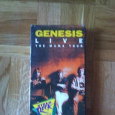 Vídeos y DVD Musicales: CINTA VHS - GENESIS - LIVE. Lote 26411536