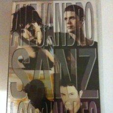 Vídeos y DVD Musicales: VHS-ALEJANDRO SANZ-LOS SINGLES-12 ÉXITOS DE ESTE GRAN ARTISTA-NUEVA PRECINTADA. Lote 24046356