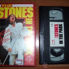 Vídeos y DVD Musicales: VHS - THE ROLLING STONES - 1969 - THE STONES IN THE PARK -VER +++. Lote 21053173