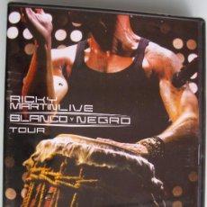 Vídeos y DVD Musicales: RICKY MARTIN - LIVE - BLANCO Y NEGRO TOUR - DVD Y CD DEL TOUR - NUEVO Y PRECINTADO. Lote 26707750
