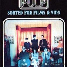 Vídeos y DVD Musicales: PULP – SORTED FOR FILMS & VIDS - VHS ORIGINAL UK 1995 – POLYGRAM VIDEO 637 046-3. Lote 22833165