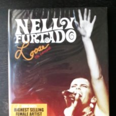 Vídeos y DVD Musicales: NELLY FURTADO - LOOSE - THE CONCERT - SPECIAL PACKAGE - LIVE AUDIO CD + DVD - 2007. Lote 26692167