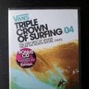 Vídeos y DVD Musicales: VANS - TRIPLE CROWN OF SURFING - DVD + BONUS CD FROM EPITAPH - 2005. Lote 26961797