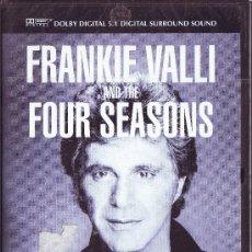 Vídeos y DVD Musicales: UXD FRANKIE VALLI AND THE FOUR SEASONS DVD MUSICA 1992 CONCIERTO GREASE BEGGIN SILVER STAR POP ROCK. Lote 26482135